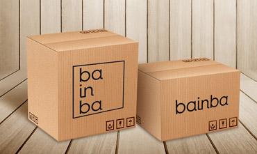 Packaging tienda online Bainba